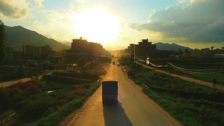 Getting to Kathmandu on a Moving Terrasse