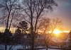 January (MargitHylland) Tags: gjøvik oppland blg post photos sunset northern lights moon cold winter january januar snow fog morefog norge norwegen norway