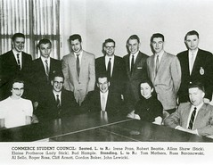 University of Manitoba Commerce Student Council, 1958 (vintage.winnipeg) Tags: winnipeg manitoba canada vintage history historic universityofmanitoba people