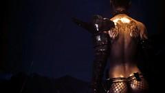 Embrace It (JuicyDoubles) Tags: dragonborn dovahkiin fallout4 scarlett nsfw thekite th3kite mods niero nukaworld armor warlord wasteland raider rain skyrim elder scrolls