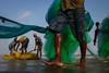Fishermen (SaumalyaGhosh.com) Tags: fishermen people peopleatwork color street streetphotography india beach sea water fishing fishingnet