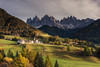 Happy Valley (Andrew G Robertson) Tags: santa maddalena val funes south tyrol dolomiti dolomites italy church chiesa village alpine postcard puez odle mountain forest tree autumn fall canon 5d mkiv mk4 di italia alps trentino bolzano belluno veneto valley