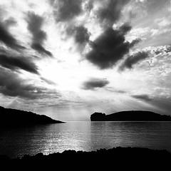 Baia di Porto Conte - Alghero  #landscape #portoconte #alghero #paesaggio #bnw  #amateurphotography  #blackandwithe #sardegna  #sardinia #paesaggio #sunset #tramonto (Gavino Bazzoni) Tags: sardinia blackandwithe landscape alghero paesaggio sardegna portoconte amateurphotography tramonto sunset bnw
