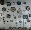 Clocks at night - Rome (Monceau) Tags: rome clocks pendulums night shop ticktock