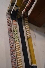 four of eight (Danny W. Mansmith) Tags: workinprogress wrapping fabric doorway portal newbeginnings artinstallation burienwashington januarymarch2018 dannymansmith sculpture