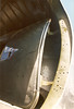 B-29A Aft fuselage crew entrance door. CAF Fifi 95-14-5A (wbaiv) Tags: usaac army air corps boeing b29a super fortress fifi commemorative force only flying example 1995 maintained condition visiting oakland airport north field hardcore nerd pictures interior for model builders detail fans july 9 om1 camera kodak color print film available gloom unpressurized area between midfuselage sighting station tailgunners pressurized compartment served trainer tb29a af sn 4462070 configuration now california