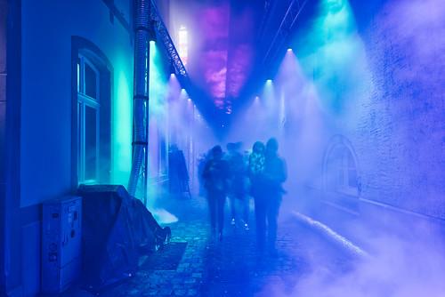 Blue dream at Luxembourg Light Festival