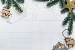 Christmas tree background (lyule4ik) Tags: christmas background winter decoration holiday branch celebration table xmas frame composition border wallpaper ornament desk flatlay mockup wedding wooden lifestyle above overhead package romantic comfort anniversary arrangement 20172018 anisestar cardribbon copyspace creativeconcept firtree fluffyplaid giftbox handicraft homecozy knittedblanket merrychristmas newyear paperpresent pinecone topview trendvintage trendypostcard whitegreen wrapper white fir green