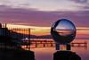 Glass Ball Docks (Sterling67) Tags: kilaben bay sunrise cloud pier dock water lakemacquarie glass ball 2470 7d