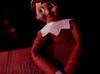 Shhh, here he comes (johnsinclair8888) Tags: elf dickens christmas christmascarol book litbycandlelight macromondays red macro bokeh johndavis happychristmas hi nikon 50mm macrotube charlesdickens