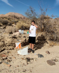027 A Water Stop Control (saschmitz_earthlink_net) Tags: 2017 california orienteering redrockcanyon statepark laoc losangelesorienteeringclub mojavedesert desert kerncounty elpasorange