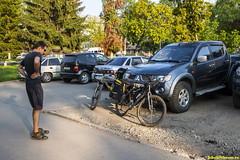 Около 4 часов мы ехали до Ефремова, последние минуты перед стартом нашего традиционного августовского похода..