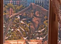 Lighting Challenge (Failed) (David K. Edwards) Tags: balcony window lapedrera gaudi architect building lighting merrychristmas hohoho barcelona
