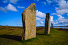 The Ring of Brodgar (rustyruth1959) Tags: nikon nikond3200 tamron16300mm uk scotland orkney ringofbrodgar lochofharray lochofstenness standingstones megalith stonecircle prehistoric prehistoricstonecircle path monument history grass loch water stone largestone stones shadows sky clouds field outdoor lichen