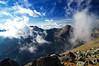 Върхове в Пирин (sevdelinkata) Tags: mountain sky rock fog pirin bulgaria