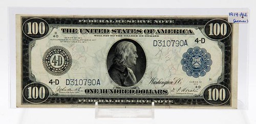 1914 $100 4-D Series Note ($924.00)