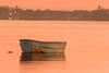 Sunrise Dinghy (Sterling67) Tags: sunrise wangi water lakemacquarie boat outside 7d 100400