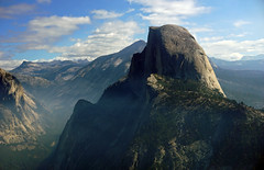 Half Dome - view from Glacier Point, Yosemite National Park (SomePhotosTakenByMe) Tags: landscape landschaft panorama halfdome natur nature urlaub vacation holiday usa america amerika unitedstates california kalifornien outdoor yosemite nationalpark glacierpoint glacierpointroad