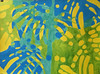 2017.10.20 Canopy (Final?) (Julia L. Kay) Tags: shadow shadows silhouette juliakay julialkay julia kay artist artista artiste künstler art kunst peinture dessin arte woman female sanfrancisco san francisco daily everyday 365 botanical botany plant foliage splitleaf philodendron splitleafphilodendron sundances schminke aerocolor ink paper brush liquitex