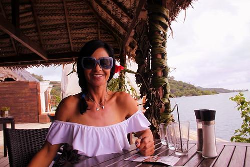 Lunch at Yacht Club Bora Bora. French Polynesia. Dec/2017