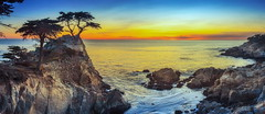 kiss to build a dream on (Juan Pablo J.) Tags: california color canon5dmkii coast canon24105mmf4l cliff sunset seascape sky sea searocks sundown sunsetmadness