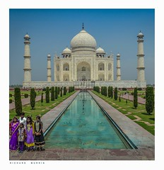 Asymmetry Exercise, Taj Mahal, Agra, Uttar Pradesh, India. (Richard Murrin Art) Tags: asymmetryexercise tajmahal agra uttarpradesh india richard murrin art photography canon 5d landscape travel images building cool
