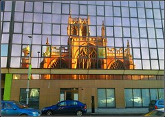 Reflected Image .. (** Janets Photos **) Tags: uk cities reflections images hullminster glassfrontedbuildings