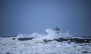 Storm at the coast