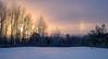 Sundog (Aaron Springer) Tags: michigan northernmichigan sundog parhelia halo sunset winter snow weather outdoor nature landscape