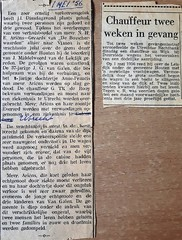 Wijk bij Duurstede bericht ongeluk verhuizing fam Ariëns 1 mei 1956 Collectie Eef Ariëns (Historisch Genootschap Redichem) Tags: wijk bij duurstede bericht ongeluk verhuizing fam ariëns 1 mei 1956 collectie eef
