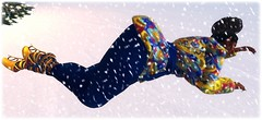 Mood (Chantel's Sultry ALLURE) Tags: chantelsatine catwa arte glitzz bakaboo moda yummy vanity mood slink expressions feelings snow secondlife sl avatar mesh hourglass queen expression blue yellow heels braids