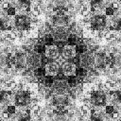 1687434770 (michaelpeditto) Tags: art symmetry carpet tile design geometry computer generated black white pattern
