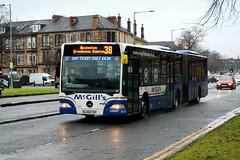 McGill's, Greenock 3601 LK05FBY (busmanscotland) Tags: mcgills greenock 3601 lk05fby lk05 fby mercedes benz mercedesbenz citaro o530g centrewest ea11057
