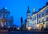 Kraków (PL) (bialobrody) Tags: bluehour blue city malopolska poland kraków