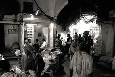 The oldest Spice Market of Asia (me suprakash) Tags: delhi india market spicemarket oldestasianspicemarket masala spice nikond90 nikon18200mm streetphotography bazaar kharibaoli blackwhite bw