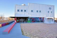 Warehouse 21 (jpellgen (@1179_jp)) Tags: santafe newmexico southwest usa america travel nikon d7200 december winter 2017 nm sf railyard train rail sigma 1770mm graffiti art artsdistrict gallery museum railyardartsdistrict santaferailyard