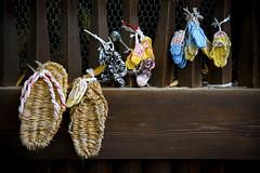 Waraji at the temple (DanÅke Carlsson) Tags: japan japanese waraji straw sandals temple hanging traditional pilgrimage kumano kodo