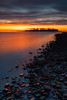 Silver Sands Sunrise (Mark Alan Andre) Tags: connecticut connecticutstateparks ct ctstateparks longexposure longislandsound markalanandre ocean oceanscape seascape silversands silversandsstatepark statepark stateparks sunrise