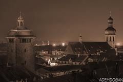 BRUCHSAL (01dgn) Tags: bruchsal almanya deutschland germany night nacht travel stadtbruchsal badenwürttemberg