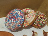 January 5: Donuts with Sprinkles (earthdog) Tags: 2018 canon canonpowershotsx720hs powershot sx720hs office work food edible donut doughnut project365 3652018