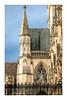 5/365: St John's College Chapel (judi may) Tags: 365the2018edition 3652018 day5365 05jan18 cambridge cambridgeshire stjohnscollegechapel fence sky architecture building canon7d window tower spire