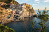 The beautiful village of Manarola in the Cinque Terre at sunset - Liguria - Italy (PascalBo) Tags: nikon d500 europe italia italie italy liguria ligurie laspezia cinqueterre nationalpark parcnational manarola sea mer water outdoor outdoors pascalboegli sunset coucherdesoleil 123faves