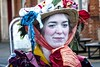 Twelfth Night 2018 - 10 (garryknight) Tags: creativecommons ccby30 panasonic lumix dmctz70 on1photoraw2018 london bankside globetheatre hollyman greenman wassail wassailing mummersplay kingbean queenpea thelionspart