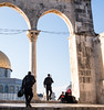 Temple Mount, Jerusalem.  (2) (Monica@Boston) Tags: people sky soldiers mother son building temple mount jerusalem