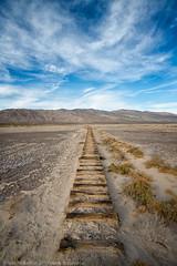 Receding Into History (dejavue.us) Tags: california d850 abandoned nikon desert saltdale 180350mmf3545 nikkor mojavedesert railroad