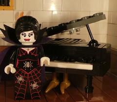 Grand Piano (captain_joe) Tags: toy spielzeug 365toyproject lego series14 minifigure minifig moc klavier flügel piano grandpiano macromondays litbycandlelight