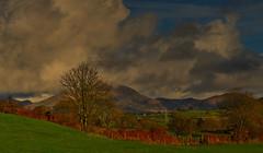 Love sky's like that. (alex.vangroningen) Tags: northwales sky clouds mountains green blue d7000 nikon70300mmvr nikond7000