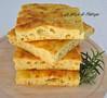 Focaccia di semola con patate e rosmarino (Le delizie di Patrizia) Tags: focaccia di semola con patate e rosmarino le delizie patrizia ricette