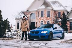 BMW M3 (SamSiddiquiPhotography) Tags: bmw m3 bmwm3 bmwm3gts frozenblue snow blue