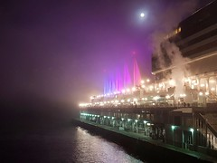 Canada Place in a foggy night... (giev) Tags: canadaplace canada night nightshot vancouver